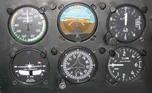 Six Pack: Analoge Instrumente für das Management des Fluges